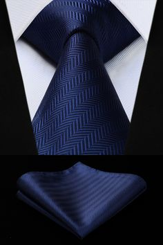 Men Closet, Tie And Pocket Square, Blue Check, Suspenders, Navy Blue, Menswear, Mens Fashion, Silk, Ebay