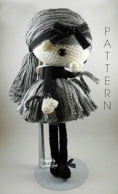Navil  Amigurumi Doll Crochet Pattern PDF by CarmenRent on Etsy