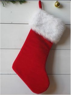 Gift socks ( blue background red edge )