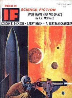 If ~ 1966 10 John Berkey, Sci Fi Kunst, Larry Niven, 70s Sci Fi Art, The Neverending Story, The Pretenders, Steve Ditko, Sci Fi Books, Star Wars Poster