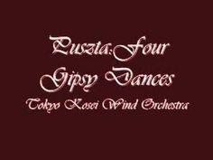 fall 3013 example piece: Puszta Four Gipsy Dances.Tokyo Kosei Wind Orchestra. - YouTube