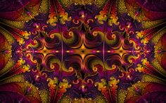 """""""Are You Passionate About Colors?"""" by Patricia Maschke on http://Shadowness.com/Anyzamarah #Anyzamarah #Inspiration #Fractal #Art"""
