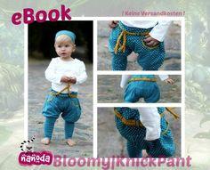 Mit diesem eBook könnt ihr individuelle Hosen für Babys, Kleinkinder und Kinder aus nicht dehnbarem & dehnbarem Stoff nähen. Das eBook umfasst den Schnitt in den Größen 56 (ca. 1-3 Monate) bis...