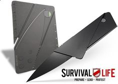 Survival Life Credit Card Knife: PDB TESTED No. 173 | Pontoon  Deck Boat Magazine