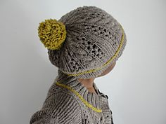 Ravelry: monte rosa ...a matching hat pattern pattern by Isabell Kraemer
