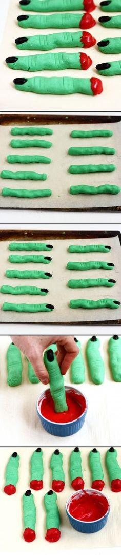 Monster Fingers #Halloween #recipe