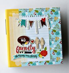 We Are...Family SN@P! Binder created by design team member Alissa Fast
