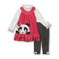 cute panda dress