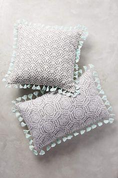 folding fans pillow