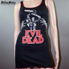 Evil Dead Ash Horror Movie Tank Top Dress Handmade by KillerKitty