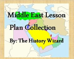 This great lesson plan collection includes seven lesson plans on the Middle East.  My students enjoy these lesson plans on the Middle East and have become very engaged in them. The lesson plan collection includes webquests, mapping activities, worksheets, and projects.
