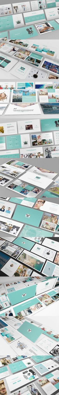 Photography Powerpoint Template #photography #powerpoint