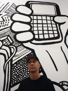 black-and-white, art-graffiti-murals