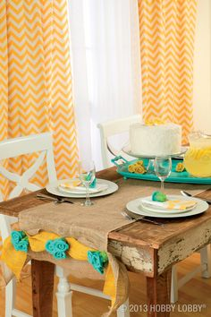Burlap has to be brown? Don't tell that to our colorful burlap flowers. They come in a vibrant (and versatile) mix of hues, made to grace the happiest, friendliest spaces in your home. We're talking sunshine yellow, robin's egg blue and more—with all the rustic charm of traditional burlap.