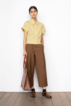 Margaret Howell, Safari Shirt, Comme Des Garcons, Lookbook, Black Denim, Mantel, Women Wear, Normcore, Street Style