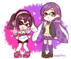 twitter doodles by moorina #Inkling #LoveLive
