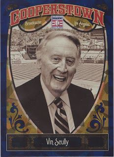 Dodgers Blue Heaven: A New Vin Scully Baseball Card is Available