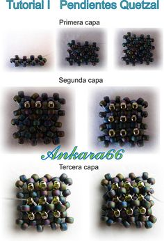 Tutorial I Pendientes Quetzal by Ankara66, via Flickr