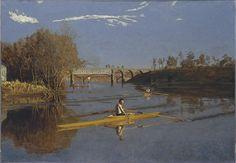 Max Schmitt in a Single Scull - Thomas Eakins — Wikipédia