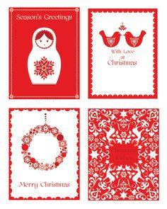 Hiccup Studio Designs: Scandinavian Christmas Collection