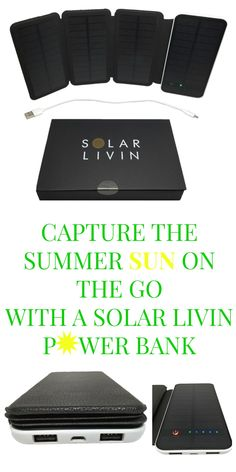 Finally! A pocket sized portable solar power bank that has 6 watts of solar power with a built in 10000mAh Li-ion battery.