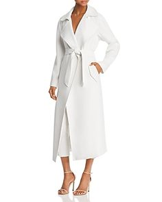 KENDALL AND KYLIE KENDALL AND KYLIE LONG TRENCH COAT. #kendallandkylie #cloth #