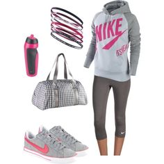No need for the bracelets. Perfect fall running gear!! (:(: