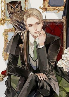 Harry Potter: The Slytherin Lord - Chapter 2 - Wattpad Fanart Harry Potter, Draco Malfoy Fanart, Drarry Fanart, Arte Do Harry Potter, Harry Potter Artwork, Harry Potter Fandom, Slytherin, Hogwarts, Hot Anime