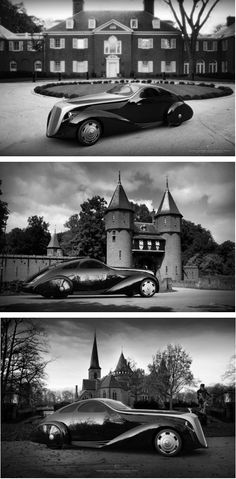Rolls Royce Jonckheere Aerodynamic Coupe II. More views to show off how incredible this design is!