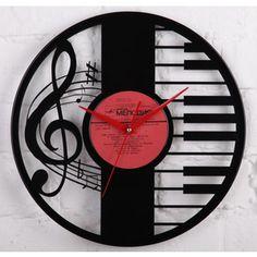 Vinyl Wall Record Clock Wedding Gift