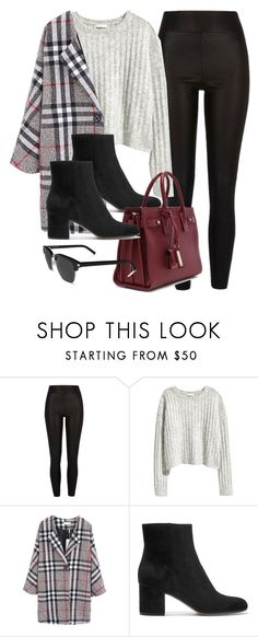 """""""#13711"""" by vany-alvarado ❤ liked on Polyvore featuring River Island, H&M, Gianvito Rossi and Yves Saint Laurent"""