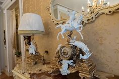 Furniture Fratelli Radice.  Chandeliers and lamps FBAI