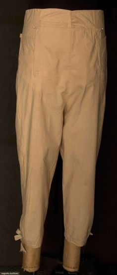 Man's Cotton Breeches, America, Early 19th C, Augusta Auctions, November 13, 2013 - NYC, Lot 184