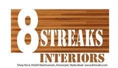 8 streaks Interiors Hyderabad by EightStreaks Interiors via slideshare