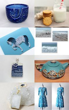 Blue gifts 7 by Liubov Stoliar on Etsy--Pinned with TreasuryPin.com