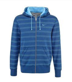 Chaqueta 481235 461 Azul Squad Flc Thin Stripe