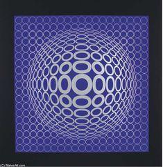 Victor Vasarely >> Réponses á Vasarely