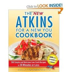 you're want to buy The New Atkins for a New You Cookbook: 200 Simple and Delicious Low-Carb Recipes in 30 Minutes or Less (Touchstone Book) ...