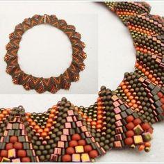 Colier Otonal By Using, Create Yourself, Wreaths, Crafty, Beads, Halloween, Blog, Handmade, Waves