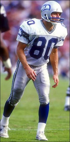 Steve Largent - There has not been a reason to watch a Seahawk's game since he…