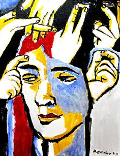 The Deaf Mind-Nancy Rourke Sign Language Art, American Sign Language, Speech And Language, Deaf Art, Deaf Culture, Love Signs, Art Pieces, Mindfulness, Art Therapy