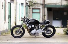A very neat 1981 CB750 custom—via the excellent Bike Shed.