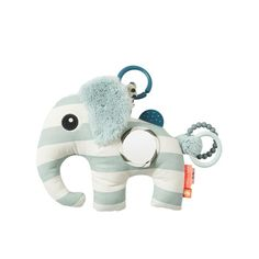 Shop the Done by Deer Activity Elphee in Blue, Made from cotton, Perfect for teething babies & stimulate their senses. Attaches to car seats & pushchairs! Baby Play, Baby Toys, Done By Deer, Baby Sense, Activity Toys, Cute Elephant, Playpen, Different Textures, Kid Furniture