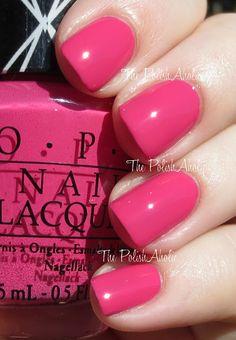 Hey Baby ~ OPI Gwen Stefani Collection Swatches m. Nail Polish Trends, Opi Nail Polish, Opi Nails, Nail Polishes, Opi Nail Colors, Pretty Nail Colors, Pretty Nails, Fancy Nails, Cute Nails