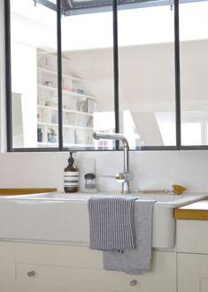 Bienvenue chez Lucille du blog lgb-etc - Marie Claire Maison Decor, House Design, Interior, Dream Decor, Modern Dining Room, Paris Decor, Home Decor, Home Deco, Home Kitchens