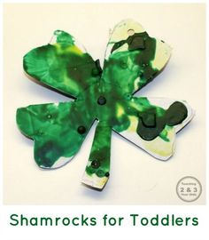 St. Patrick's Day Craft for Toddlers - Teaching 2 and 3 Year Olds