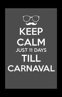 Keep Calm Carnaval