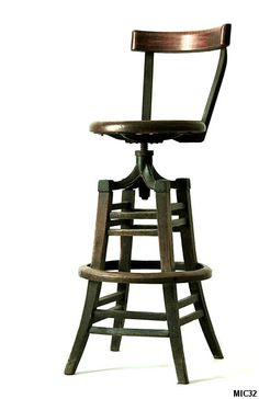 Chaise de bar américain