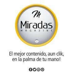 Ubícanos y siguenos en FACEBOOK | TWITTER | INSTAGRAM | PINTEREST  #miradasmagazine #EnamoratedeAnzoategui