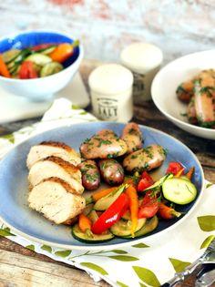 Tökéletes csirke + gyors saláta + házi salátaöntet = laza nyári ebéd • Fördős Zé Magazin